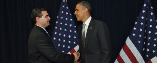 Lyle Masnikoff Discusses Legal Issues with President Barack Obama