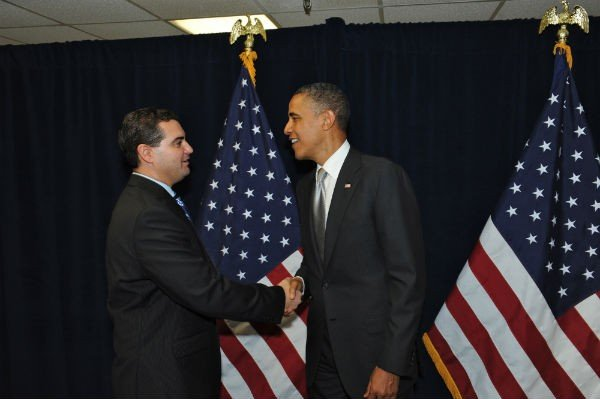 Masnikoff Discusses Legal Issues with President Barack Obama