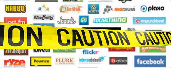 Caution! Injured Workers deactivate their Social Media accounts…