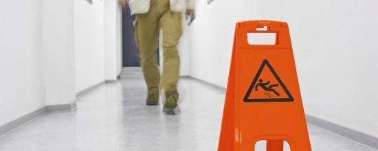 Preventing falls at workplace